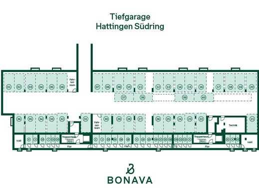 Stellplatz in Tiefgarage in Hattingen