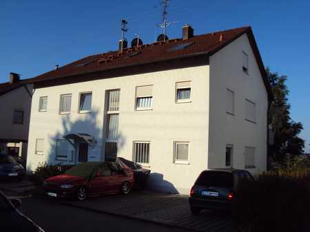 1 Zimmer Wohnung mit Balkon und Außenstellplatz in Konzenberg in Haldenwang (Günzburg)