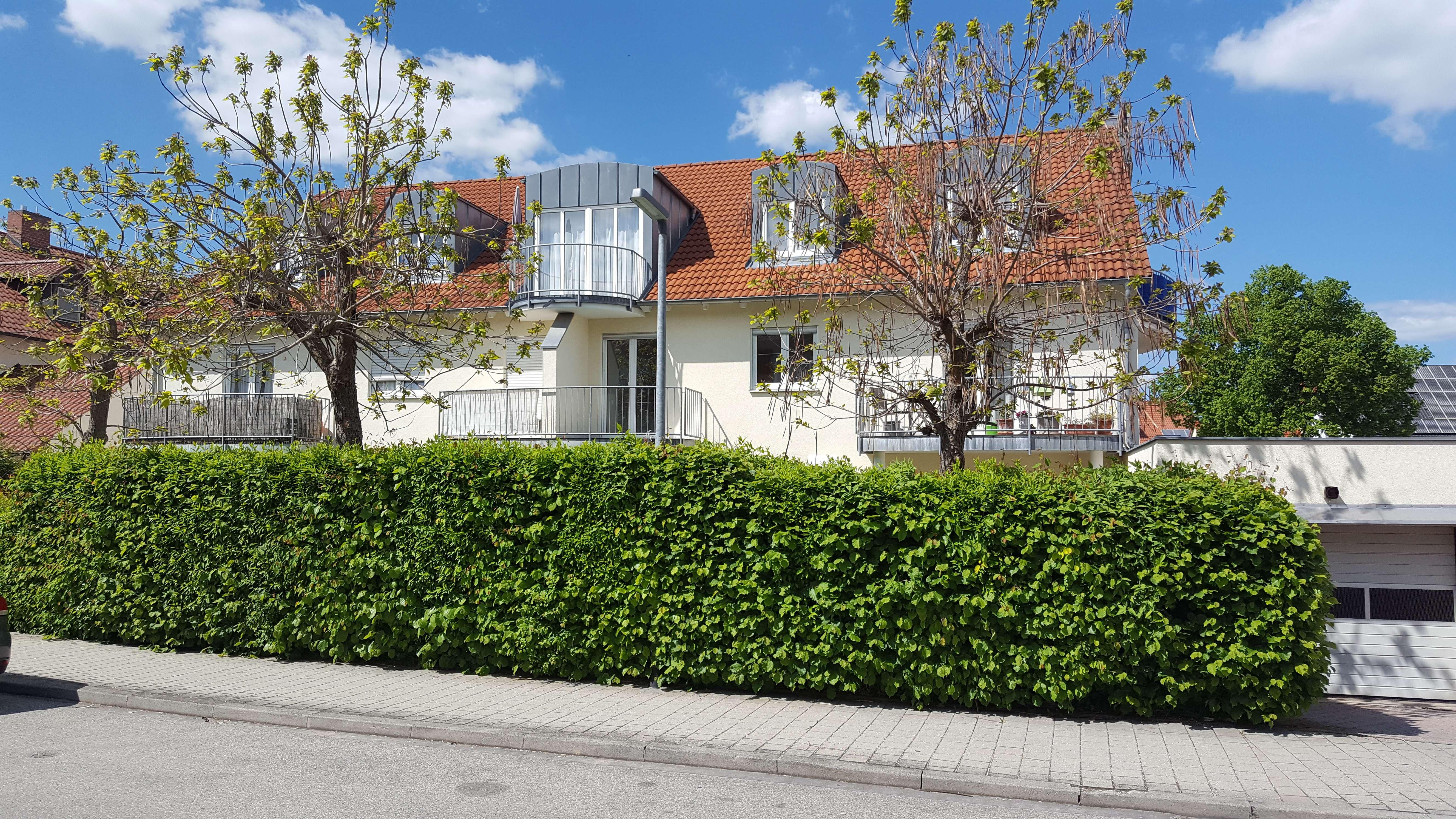 Tolle 1-Zimmer-Wohnung mit Balkon und Einbauküche in Ingolstadt/West