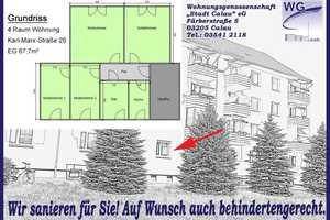4 Zimmer Wohnung in Oberspreewald-Lausitz (Kreis)