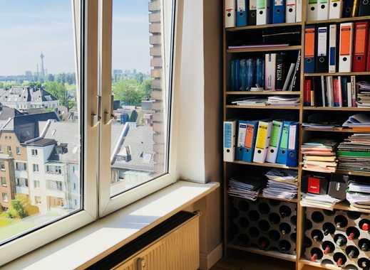Bezaubernde Wohnung in Golzheim, mit wunderschönem Blick zum Rheinufer.
