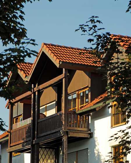Gepflegte 3 Zimmer-Wohnung im 2. OG -  Westbalkon in Tacherting |  IMMOBILIEN BEILHACK in Tacherting