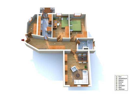 ++ Großzügige 3 Zimmerwohnung mit Balkon ++