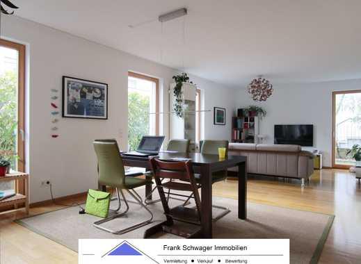 """Kaltental: """"Haus im Haus"""" in ruhiger Lage. Terrasse, Garten, 2 Bäder, Parkett, FB-Hzg. und Garage"""