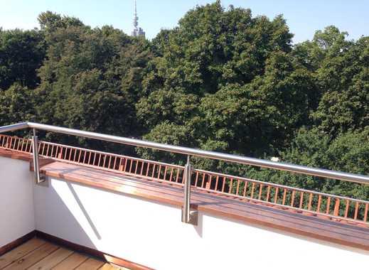 Moderne 2-Zi.-Dachterrassen-Whg. mit 2 Terrassen (1x Ost, 1x West), Klimaanlage, ruhige Lage