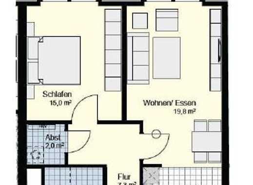 Moderne 2-Zi-Wohnung in Henstedt-Ulzburg. Barrierearm, zentral und trotzdem ruhig wohnen!