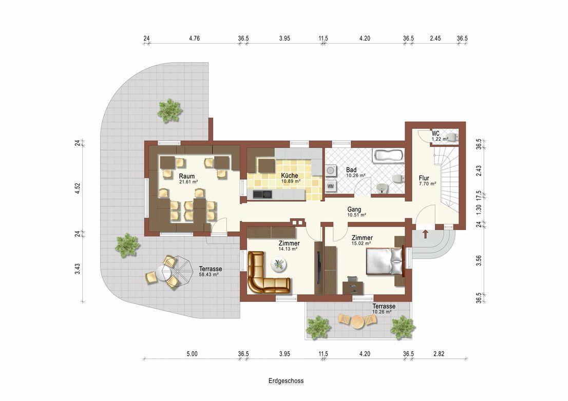 Wunderbare Gelegenheit in Klais – Zweifamilienwohnhaus