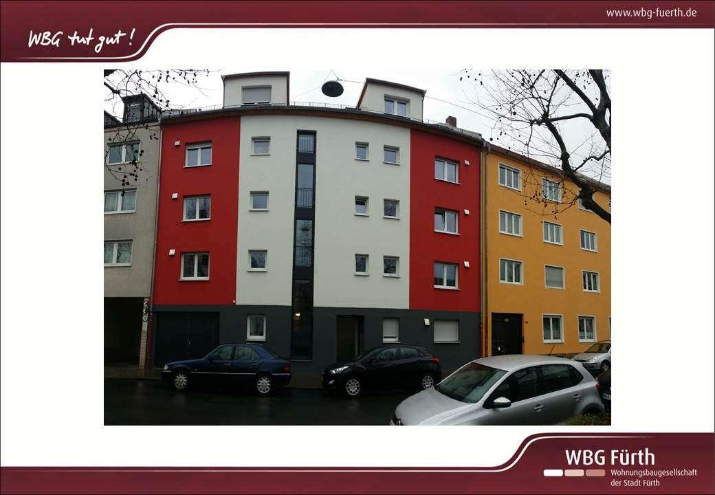 2-Zimmer-Citywohnung im Herzen von Fürth  mit Balkon