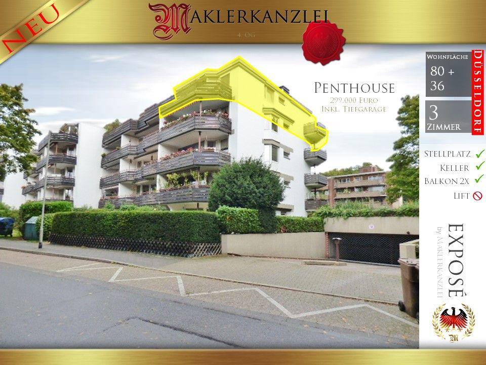 Penthouse Düsseldorf Sonnenunt