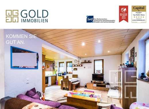 GOLD IMMOBILIEN: Vermietetes Einfamilienhaus in zentraler Lage von Trebur