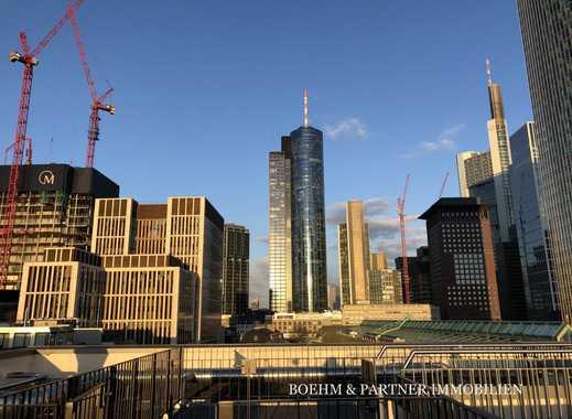 TRAUMWOHNUNG mitten im BANKENVIERTEL: Luxus-Penthouse mit fantastischem Skylineblick, Erstbezug!