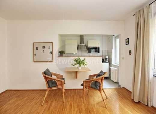 ZeitwohnKontor: Schickes, komplett möbliertes Apartment in zentraler Lage in Essen-City, WLAN aktiv