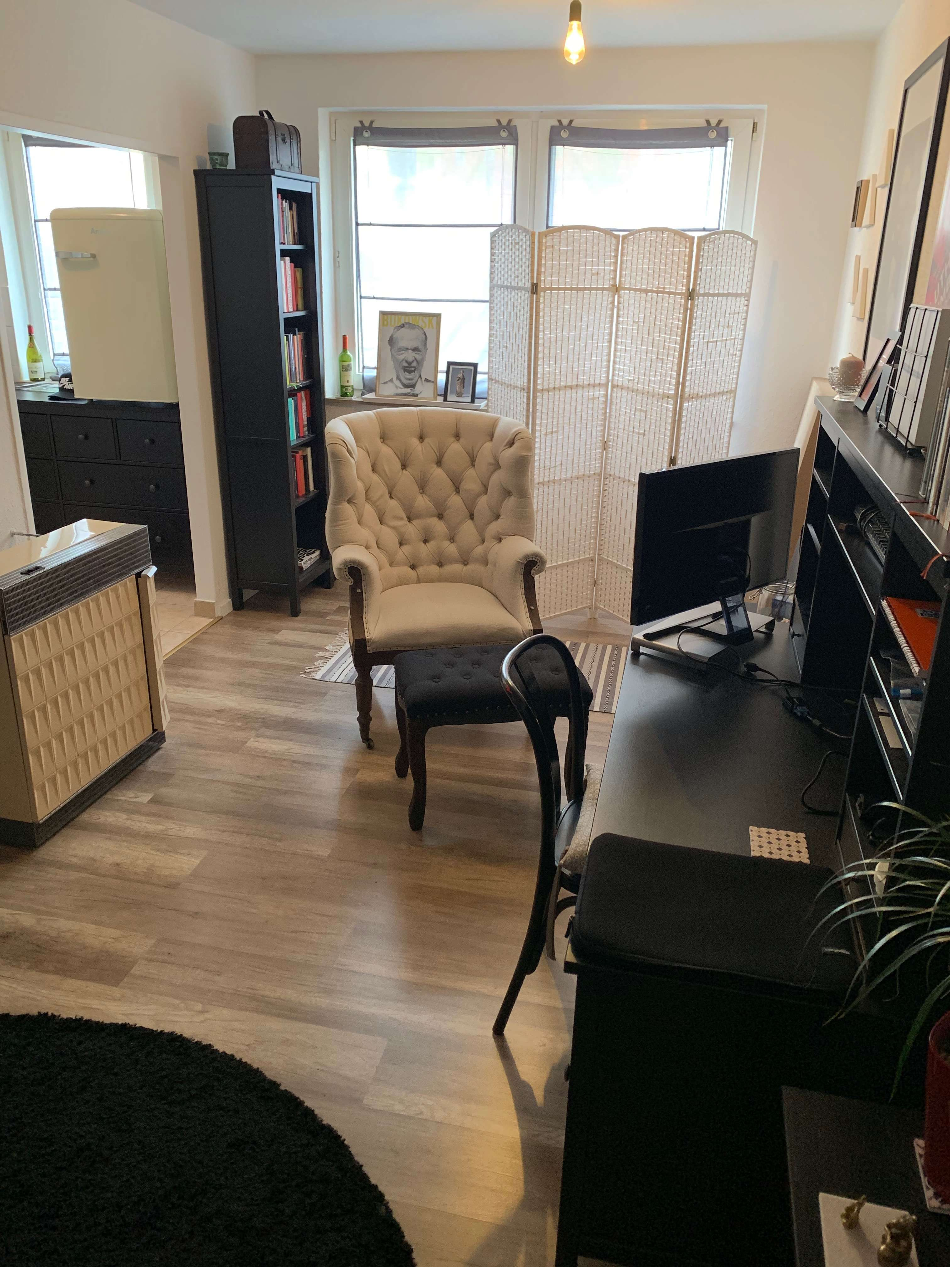 Zabo! renoviert 2-ZW, ca. 40 qm, Laminat, im Erdgeschoss