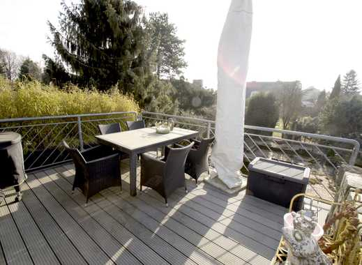 Neuss-Lukasviertel: Exklusive Maisonettewhg. im Haus-im-Haus Prinzip mit Kamin u. Dachterrasse