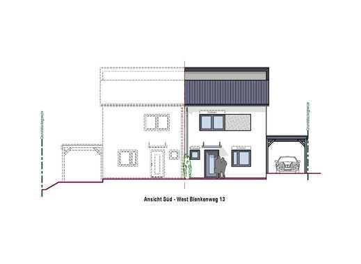Neubau im Massivbau projektiert in Dielheim-Horrenberg
