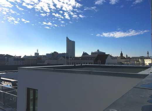 Penthouse im Denkmalschutz + 4 Zimmer + Dachterrasse + Aufzug + ERSTBEZUG