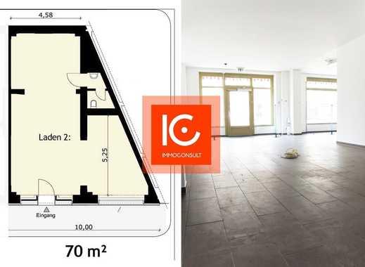 Helle Büro/Gewerbefläche ca. 70 m² in Leipzig Zentrum-Südost, geflieste Räume, Markise