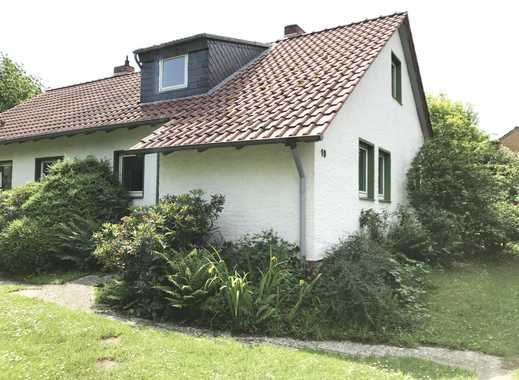 Doppelhaushälfte im Grünen sucht neue Familie