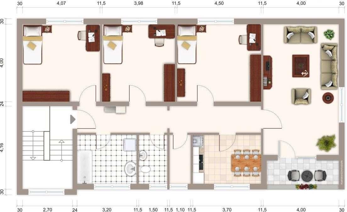 Erstbezug nach Sanierung mit Balkon: attraktive 4-Zimmer-Wohnung in Würzburg in