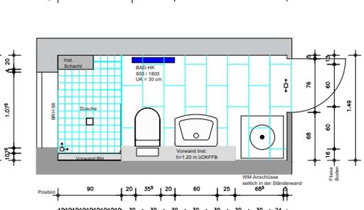 Badezimmer Jenaer Str. 2, rech