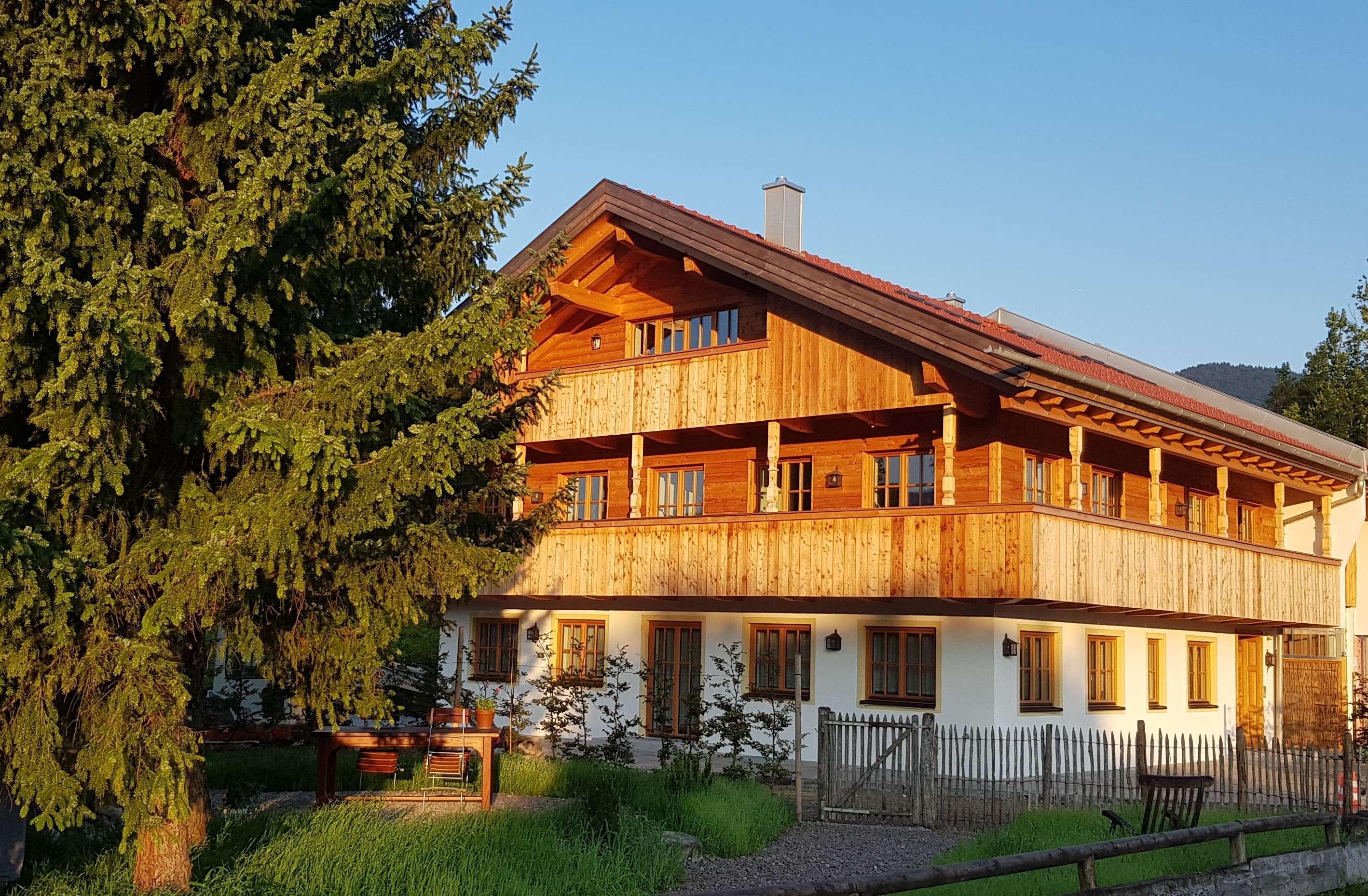 Attraktive und großzügige Erdgeschoßwohnung mit Terrasse in Lenggries/Wegscheid in Lenggries
