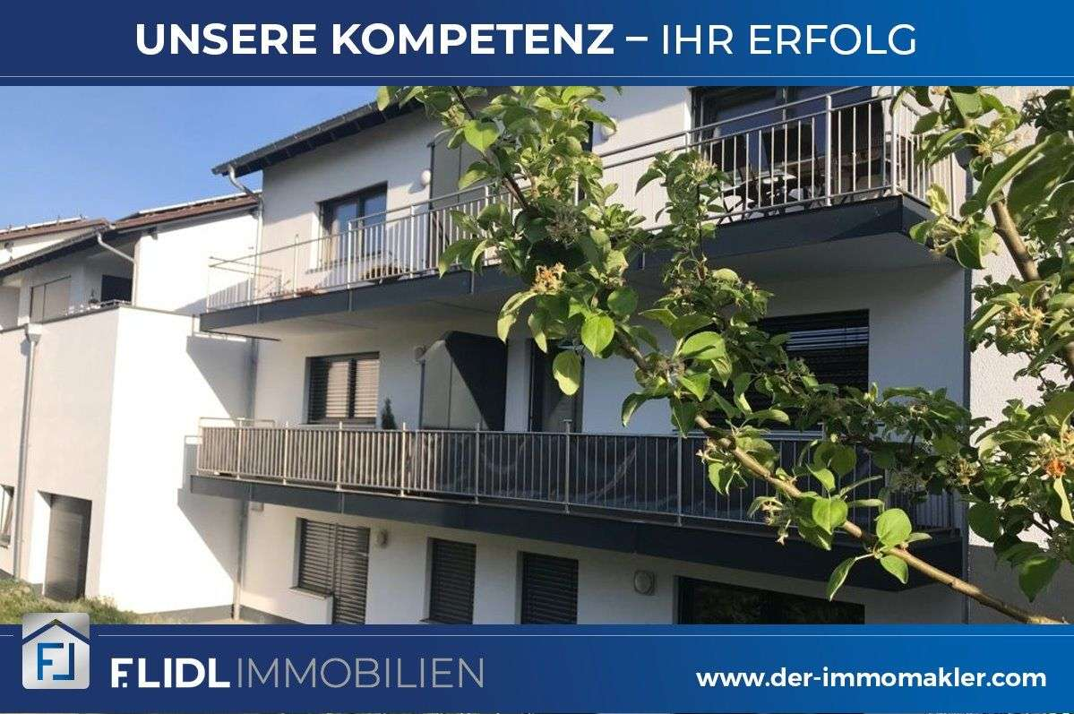 exklusive 2 Zimmer Mietwohnung 1. Stock in Pocking in