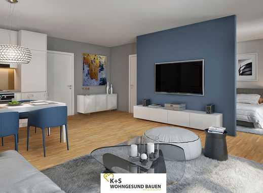 Viele Fenster und viel Tageslicht! Zukunftsorientierte 4-Zimmer-Familienwohnung mit offener Küche