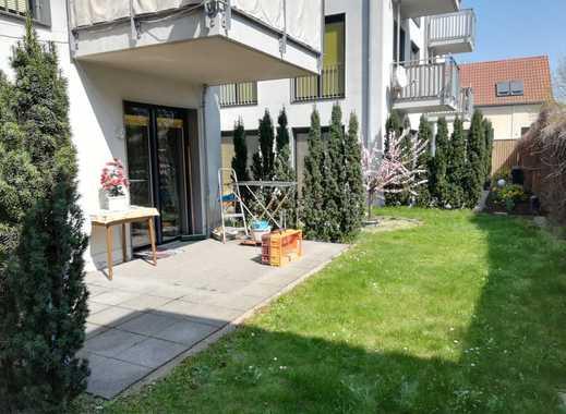 Altengerechtes Wohnen   1- Raum-Wohnung im Hinterhaus mit Garten