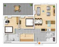 3-Zimmer-Wohnung 7