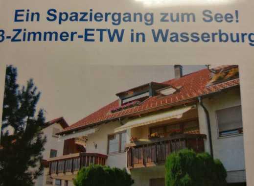 Schöne drei Zimmer Wohnung in Lindau (Bodensee) (Kreis), Wasserburg (Bodensee)