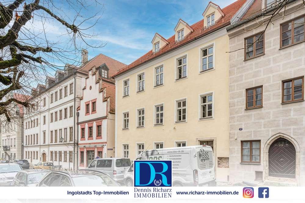 3-Zi-Whg: Historisches und frisch saniertes Altbaujuwel im Herzen Neuburgs in