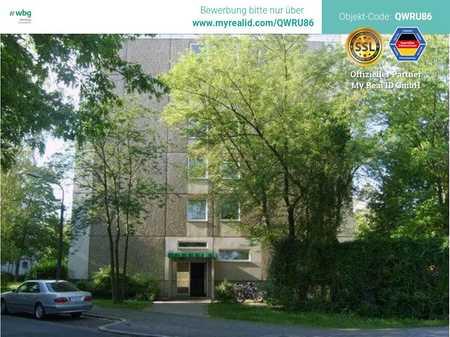 Wohnen im Grünen - nahe Frankencenter! 3 Zimmer Wohnung ab 15.07. zu vermieten! in Langwasser Südost (Nürnberg)