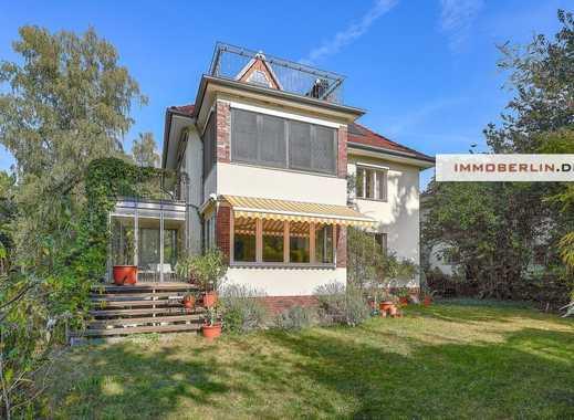 IMMOBERLIN: Spitzenlage Schlachtensee! Faszinierende Villa mit Südwestgarten