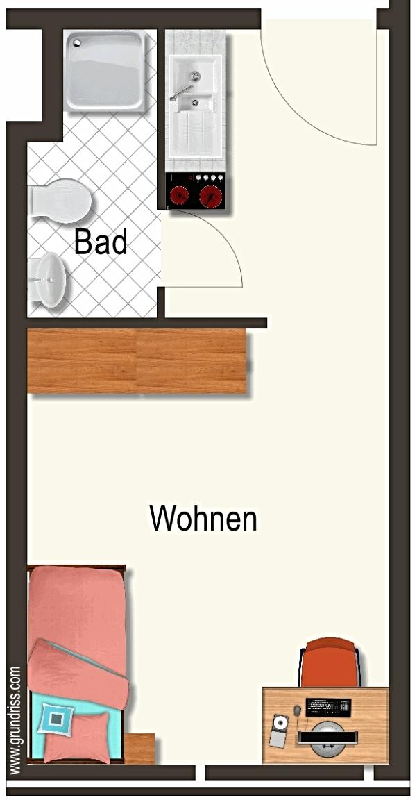 Vollmöbliertes Studentenappartement in Uni-Nähe in
