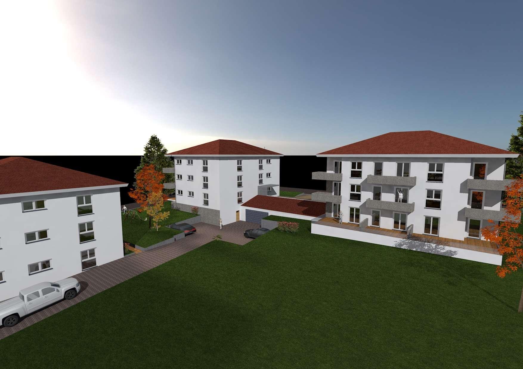 Erstbezug KFW40+ 2 Zimmer Wohnung mit Garten, TG und Aufzug in Regensburg (Kreis), Schierling in