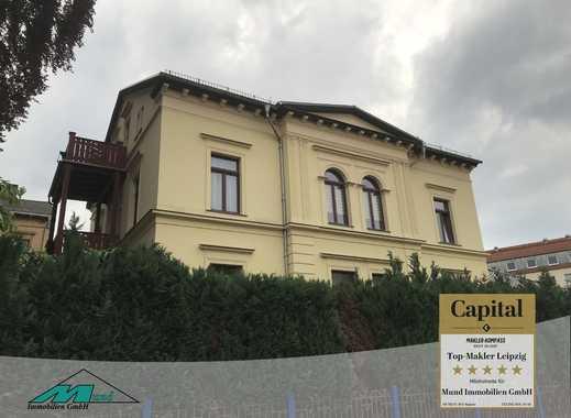 hochwertig sanierte Villa in Altenburg mit vermieteten Nationalitäten-Restaurant und Nebengebäuden