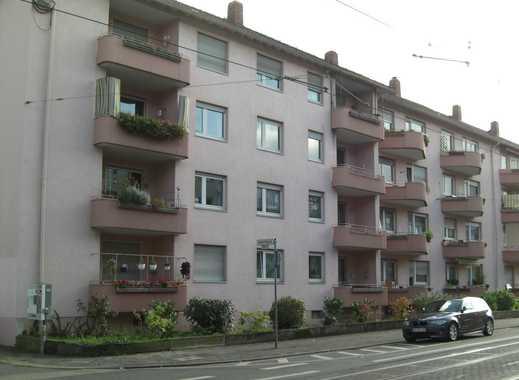 Gut vermietete 3-Zimmer-Wohnung mit Balkon am Rand der Innenstadt Darmstadts