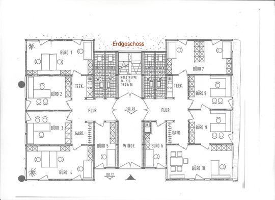 Büro 6+7+8+9+10+Nebenflächen