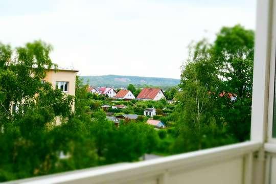 Kleine Wohnung - großer Balkon