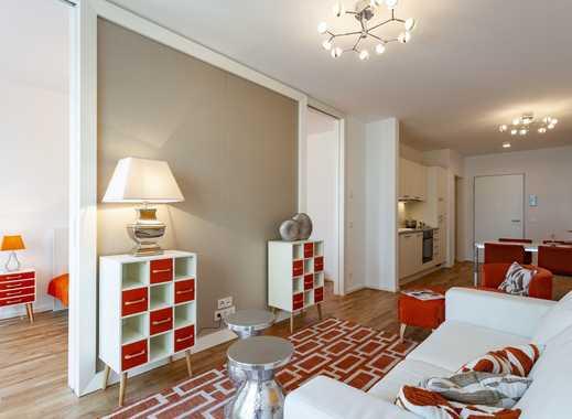 Freundliche 2-Zimmer-Wohnung mit Einbauküche, komfortablem Wannenbad und Loggia in Innenstadtlage