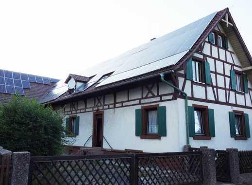 Idyllisches Ein-/Zweifamilienhaus mit Ökonomiegebäude und abtrennbarem Baugrundstück