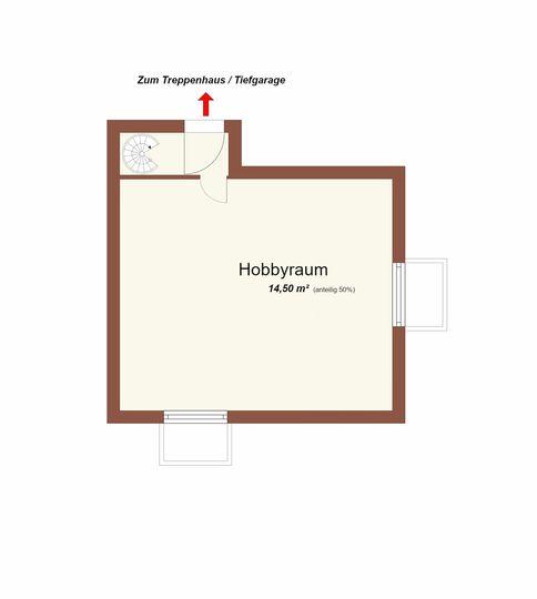2,5 Zi. Terrassenwohnung mit TG, zentrale Lage.