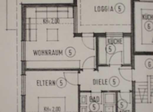 Schöne zwei Zimmer DG-Wohnung in Ulm-Jungingen