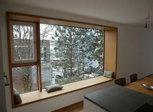 Wohnen im Park! Exklusive & helle 3-Zimmer GartenWohnung (hochw. Einbauküche, Terrasse) in Thon