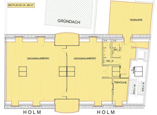 Grundriss (2. Vorschlag)