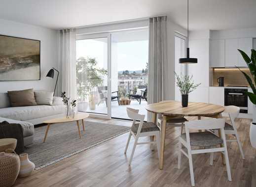 Familien-Wohnung mit sonnigem Balkon und 2 Bädern