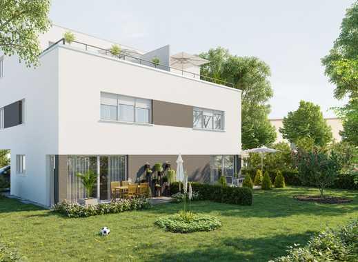 Moderne Doppelhaushälfte voll unterkellert mit wow-Effekt