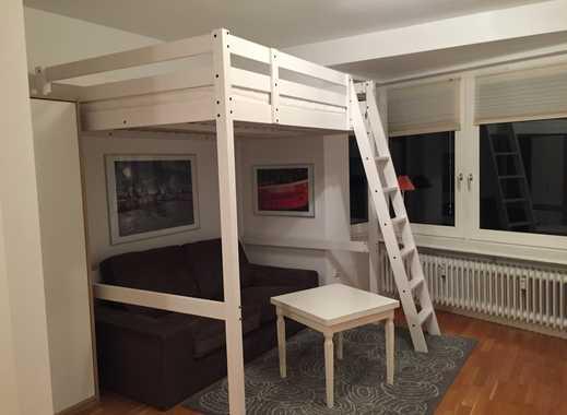Exklusive 1-Zimmer-Wohnung mit Einbauküche in Hambrug