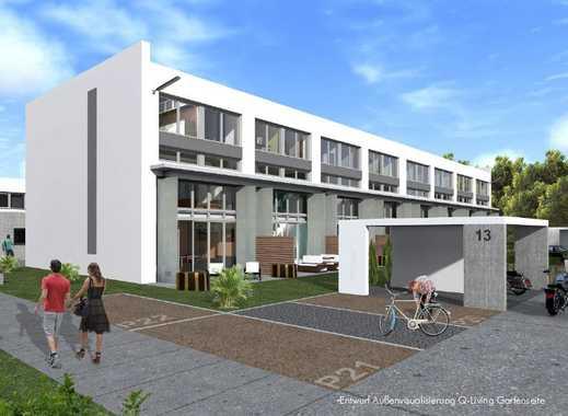 Einmalige loftartige Masionette-Wohnung, sonnige Süd-West-Terrasse, hochwertige Küche