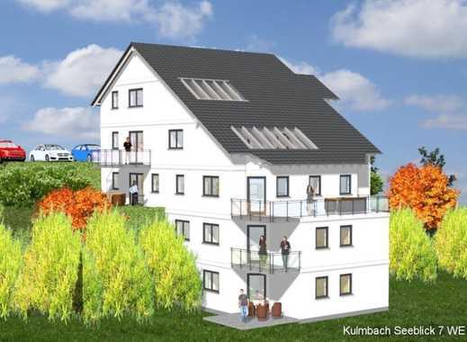 """Seeblick"" Kulmbach-Burghaig – Neubau Whg. 1: Moderne 3 ZKB mit Gartenterrasse"